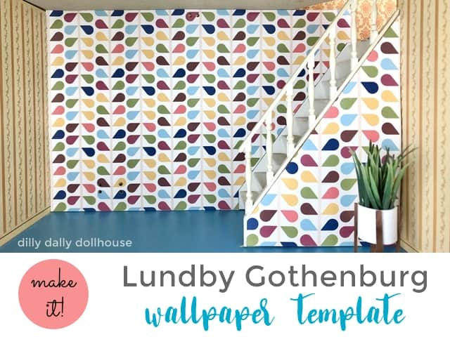lundby dollhouse wallpaper templates