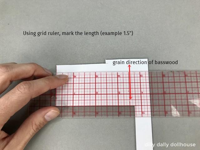 """measure matboard at 1.5"""""""