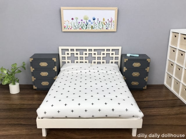 dollhouse headboard