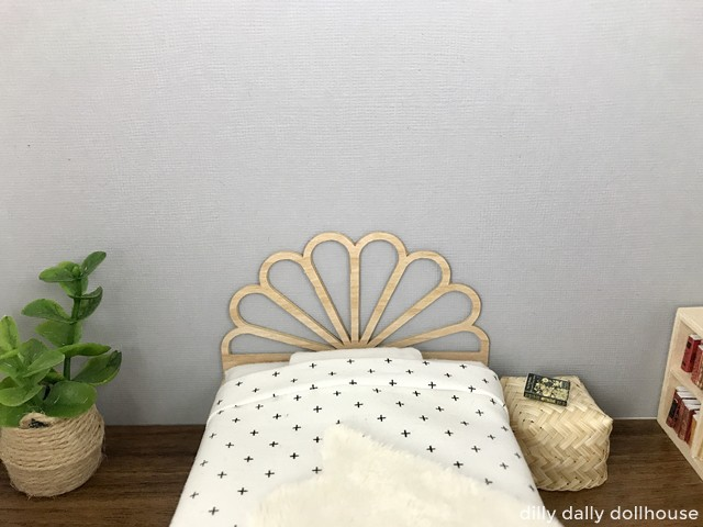 peacock dollhouse bed queen
