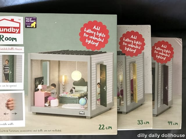 Lundby Rooms in package